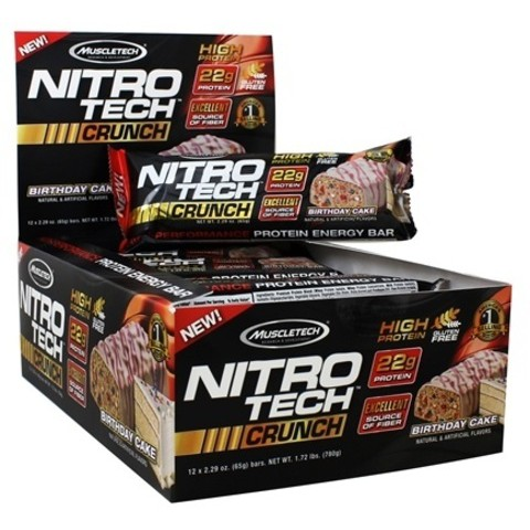 JUNE PROMOTION Nitrotech Crunch Bar