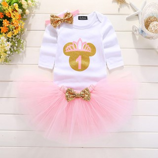 60ae1ee8efc86 Newborn Baby Girl Clothing Summer Sequin Bow Tutu Party Dresses ...