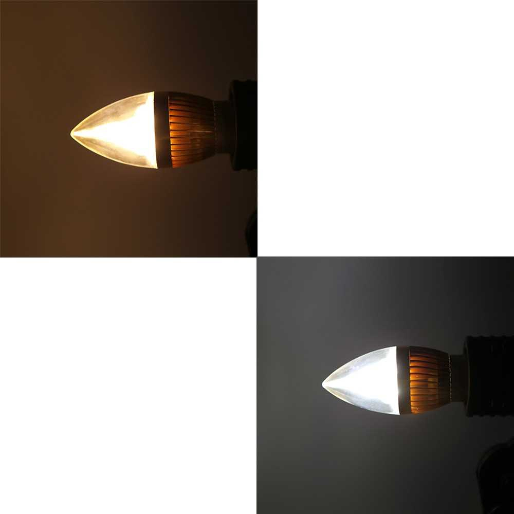 B22 6W LED Candle Light Bulb Chandelier Lamp Spotlight High Power AC85-265V