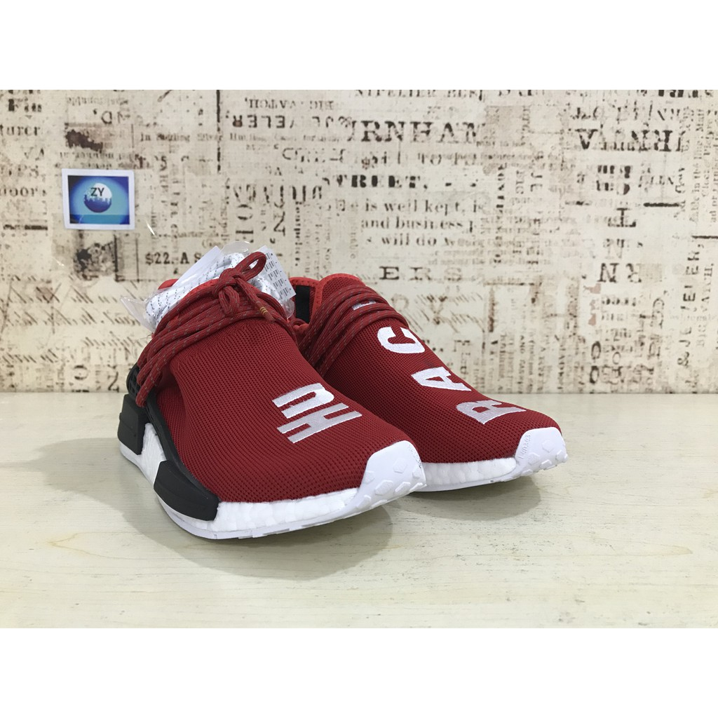 Adidas NMD HU red and white casual shoes for men and women