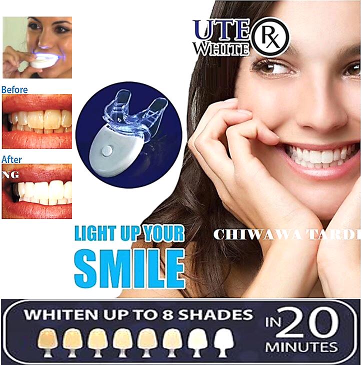 【UPGRADED】20 Minute Dental White Light Teeth Whitening Gel Super Bright System