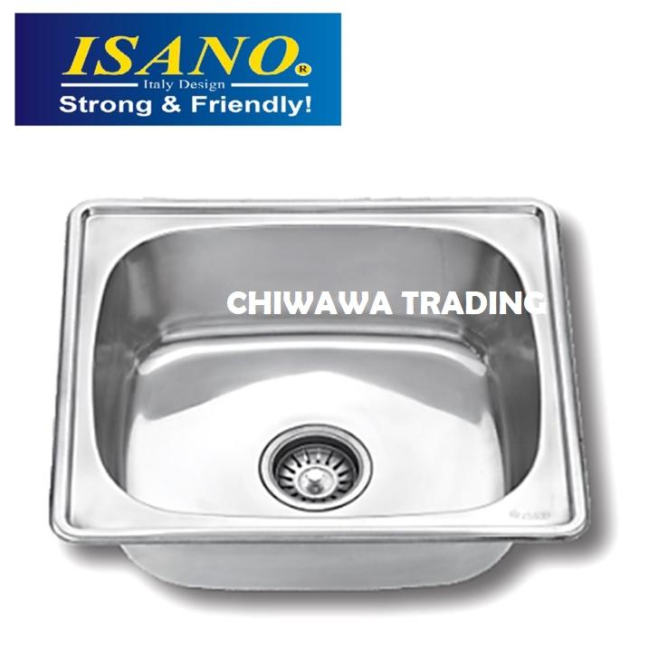 ISANO B880 Stainless Steel Kitchen Sink Bowl Basin Drainer
