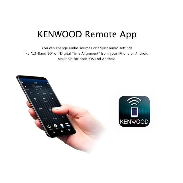 Kenwood Bluetooth/USB/AUX Digital Media Car Stereo - No CD KMM-BT304