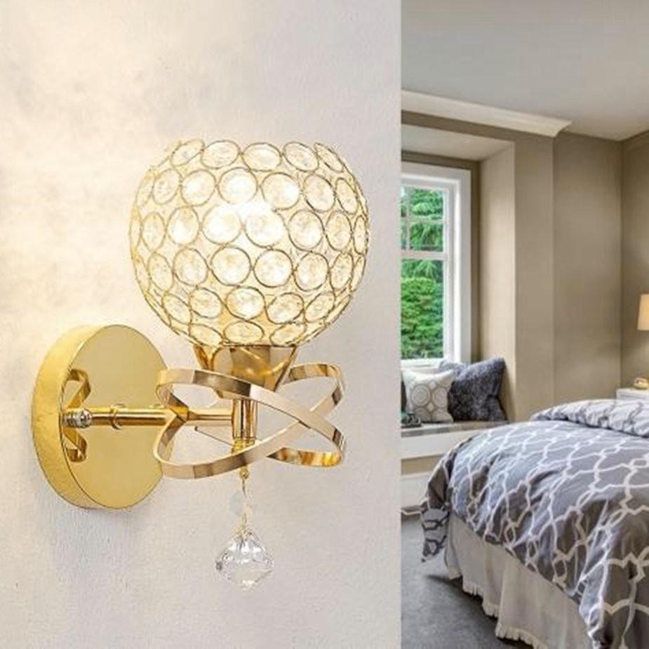 Led Crystal Wall Mount Lamp Bedroom