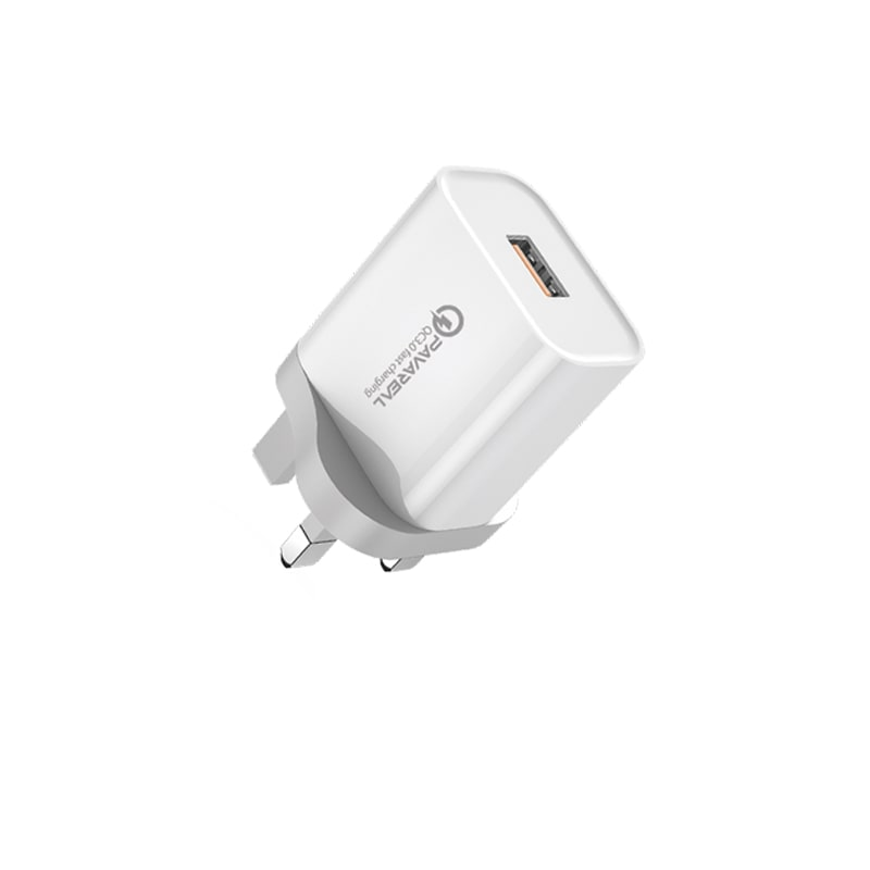 PAVAREAL PA-WC67 3A Qualcomm Quick Charge 3.0 18W Wall Charger Safety & Stable