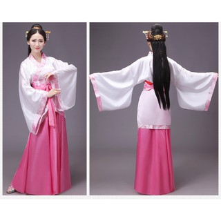 952aecb85 Chinese Tang Dynasty Costume Women Ruqun Hanfu Suit Cosplay infanta Fairy  Dress. | Shopee Malaysia
