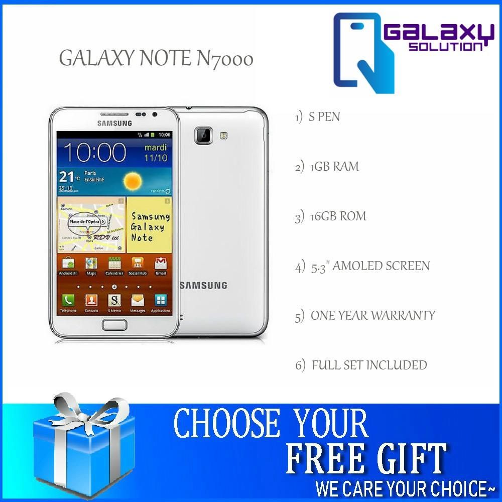 [FREE GIFT] Samsung Galaxy Note 1 N7000 16GB [1 Year Seller Warranty]