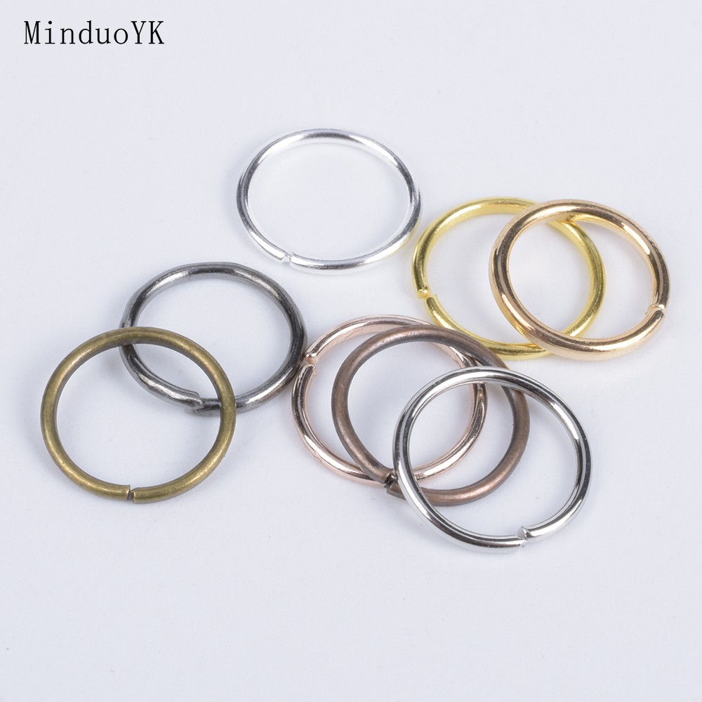 Silver//Gold Plated Open Jump Rings Connector Jewelry Findings 4//5//6//7//8//9//10mm