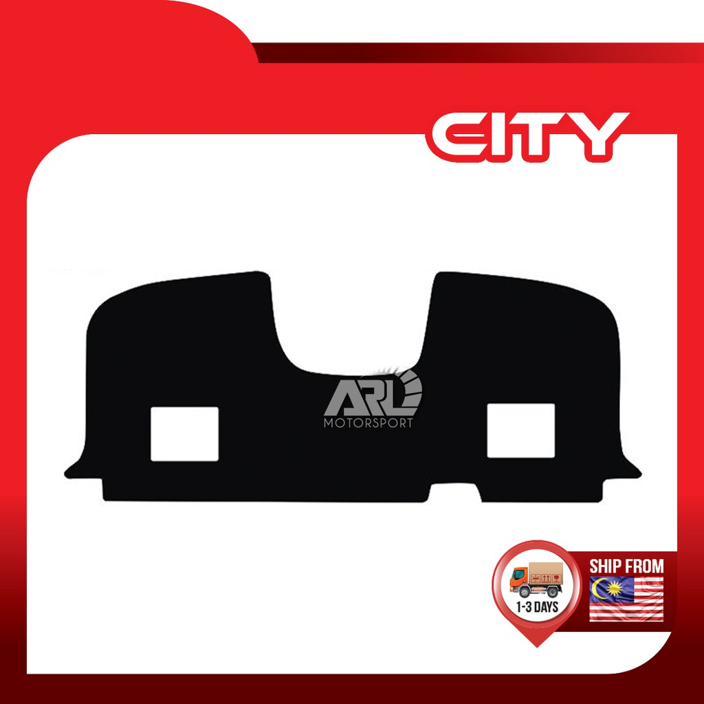 Honda City (2014-2020) GM6 Rear Dashboard Carpet Protector Cover Mat Car Auto Acccessories ARL Motorsport