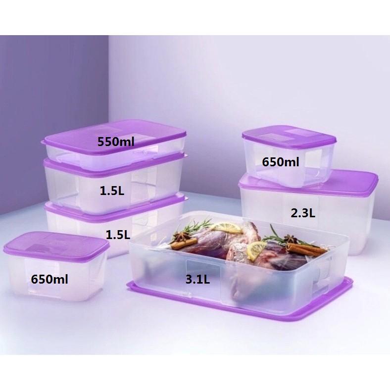 Tupperware FreezerMate Essential - 650ml/1.5L/550ml/2.3L/3.1L -  🔥Loose Item🔥
