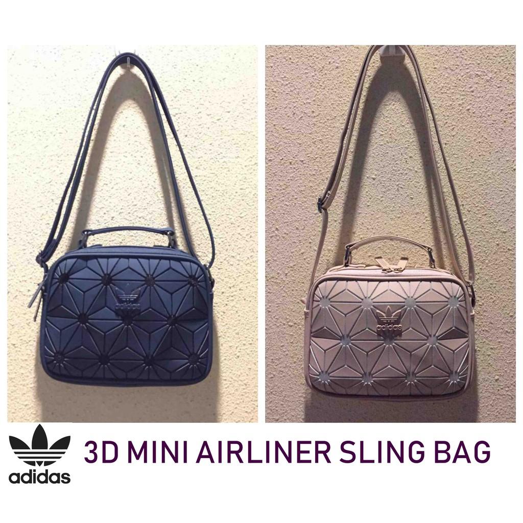 ADIDAS 3D MINI AIRLINER SLING BAG  c2997d7d429b0