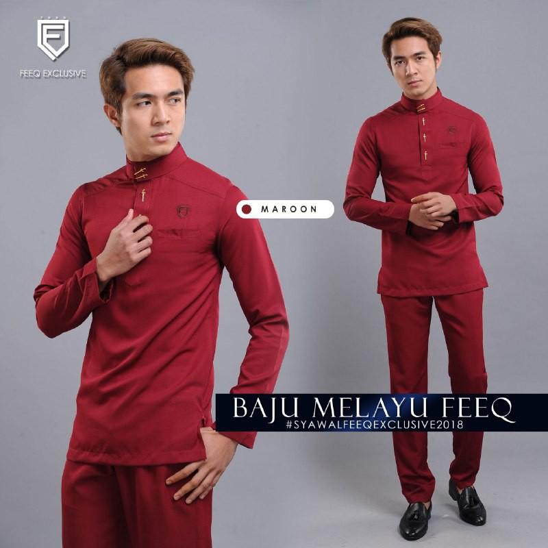 MyTrend Baju Melayu Akif - Sky Blue  02c2eb90fb