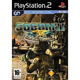 PS2  SOCOM II : U.S Navy Seals / SOCOM 3 / SOCOM 1 / Navy Seals:Combined Assault[Burning Disk]