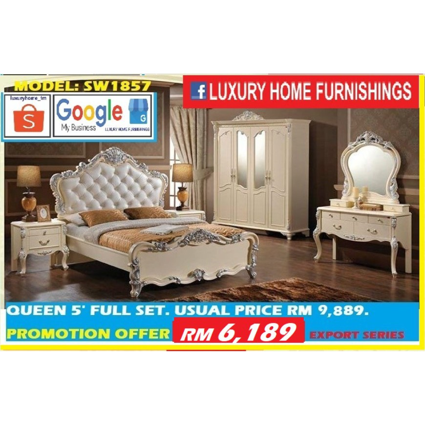 BED ROOM SET COLLECTIONS, SW 1857, CLASSICAL SERIES, EXPORT EDITION!! ON PROMOTION!!