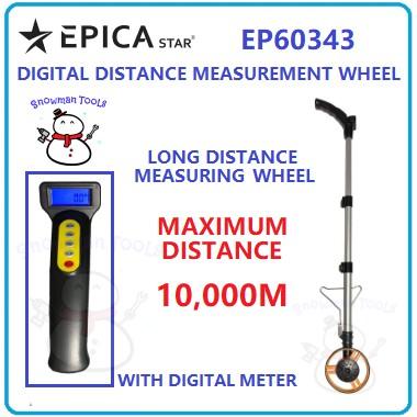 """DIGITAL DISTANCE MEASURING WHEELS 6"""" EPICA STAR BRAND EP60343 6 INCI UKUR RODA DIGITAL BATERI METER UKURAN RODA TOOLS"""