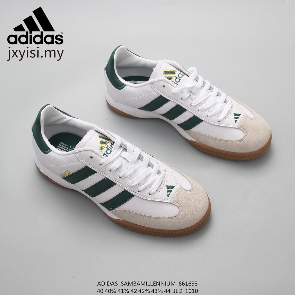 Ver a través de gemelo nudo  The New Adidas Samba Sambamillenium Club men comfortable Football style  retro running shoes leather sneakers | Shopee Malaysia