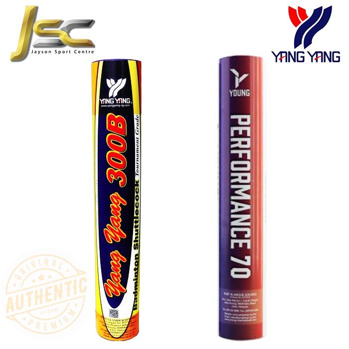 Yang Yang 300B / Tournament Grade Performance 70 Badminton Shuttlecock (100% Original)