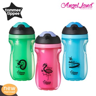 2 x 260ml Tommee Tippee  Explora  Trainer Cup Age 6m Pink Bpa free