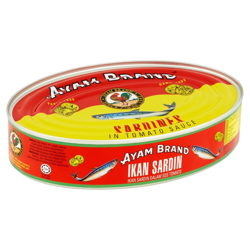Ayam Brand Sardines In Tomato Sauce (425g)