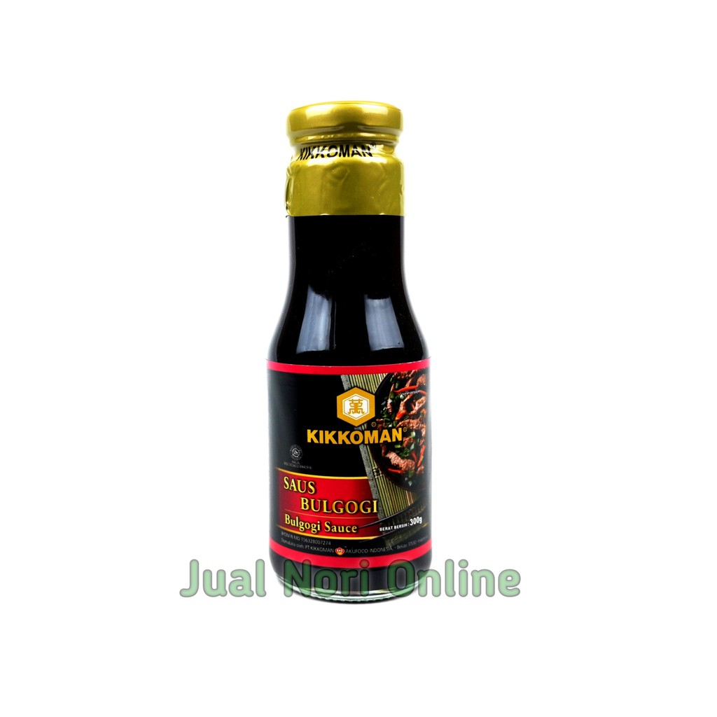 Kikkoman Bulgogi Sauce 300 Grams Halal Mui Marination Meat Steak Sauce Shopee Malaysia