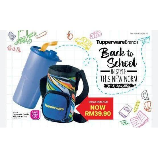 Botol Air Tupperware: Thirstquake Tumbler 900 ml updated