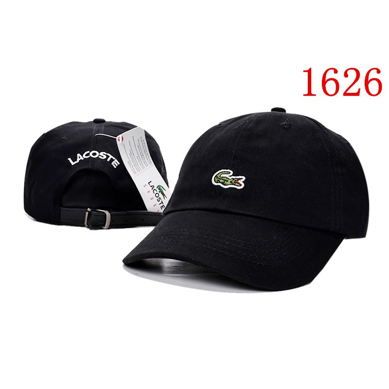71326705a LACOSTE CAP Snapbacks Korean style Cotton soft top Women Men Baseball Hats