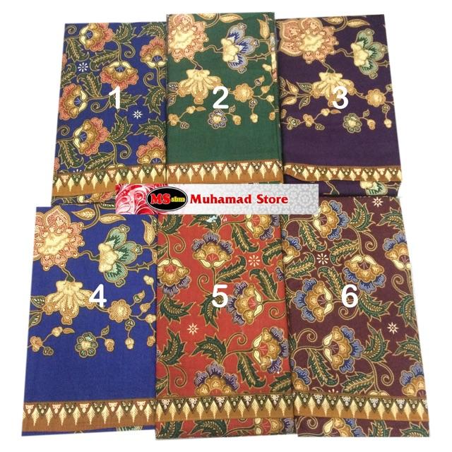 3 Unik Kain Batik Lepas 100% Cotton