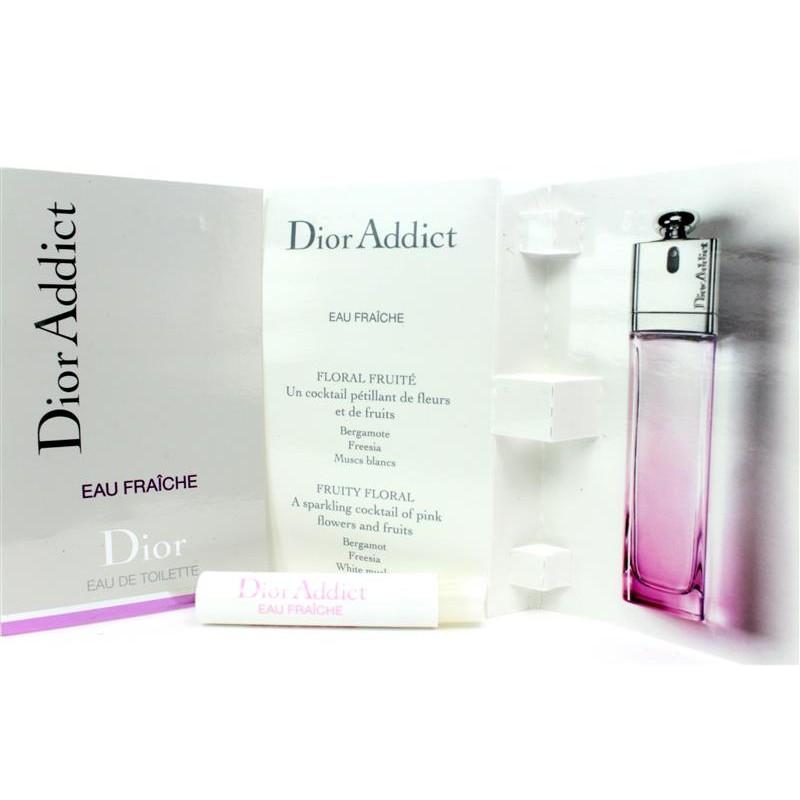 Orginal Dior Addict Eau Fraiche Tester Perfume 2ml