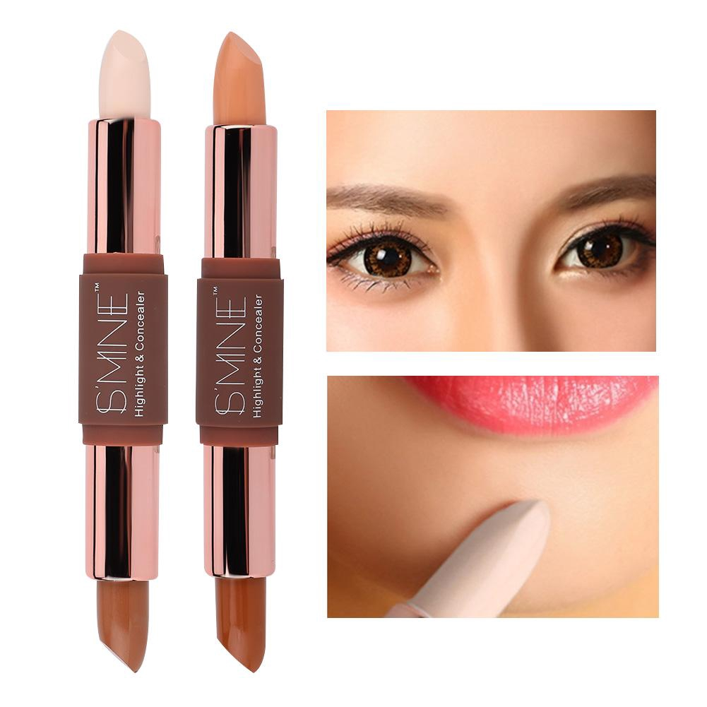 Highlighter Contour Highlighting Pen Double-head Stick Cosmetic Shading Makeup