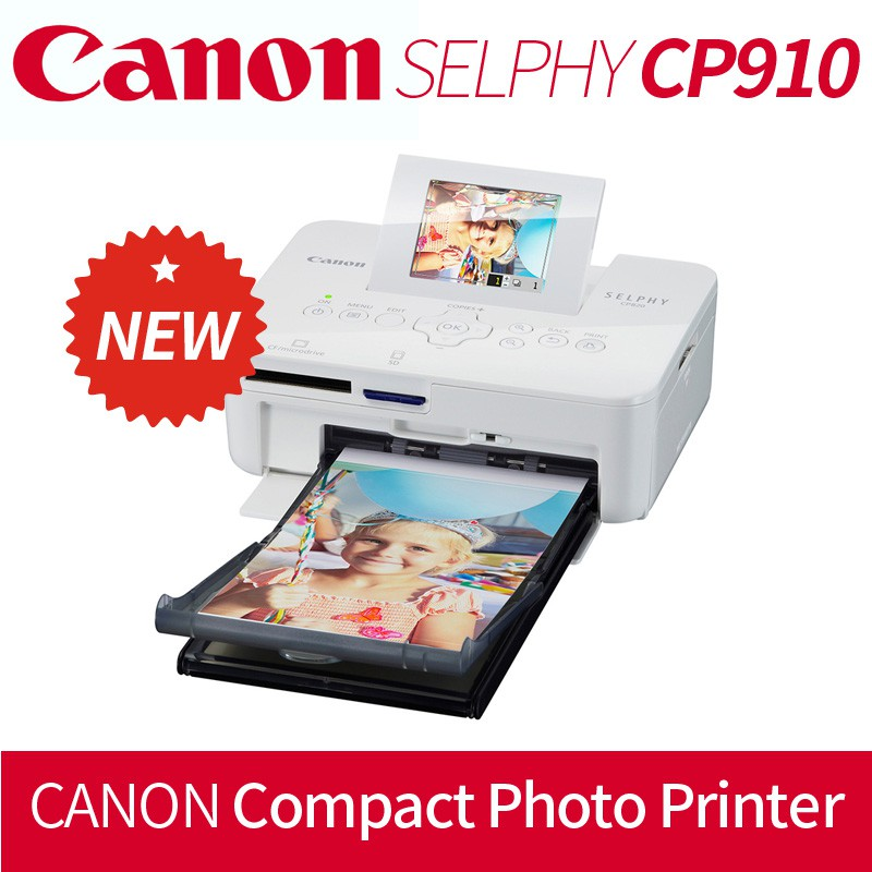 Canon Selphy Cp910 Portable Compact Photo Printer Shopee Malaysia