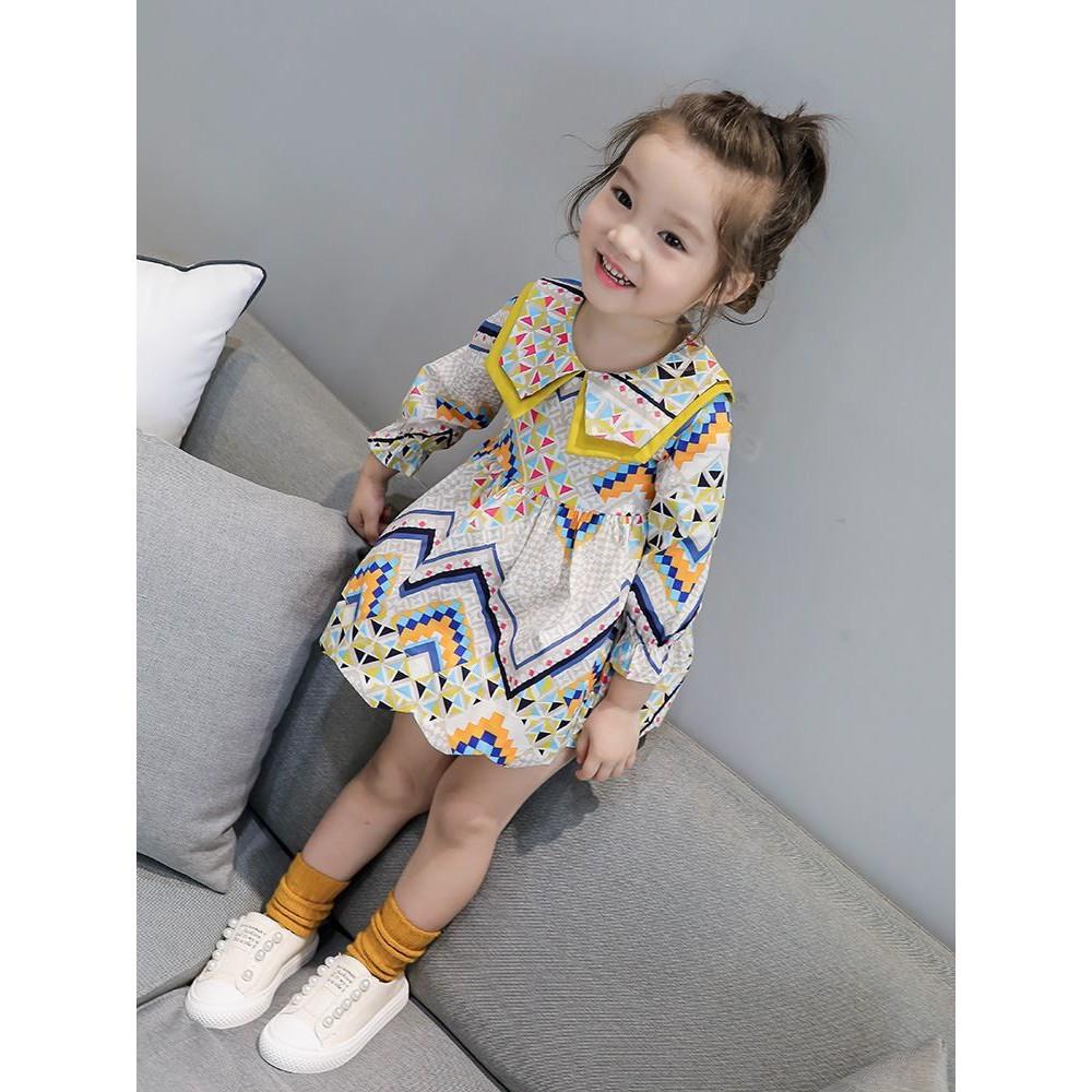 Baby Girl Kids Clothing Korean Style Summer Dress Dinner Dress 女童连衣裙公主裙