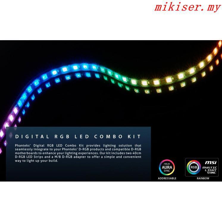 PHANTEKS DIGITAL RGB LED COMBO KIT # | Shopee Malaysia