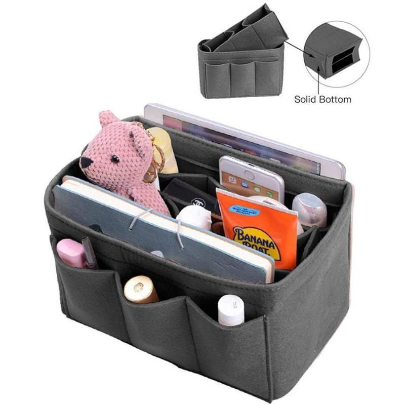 Solid Handbag Purse Organizer