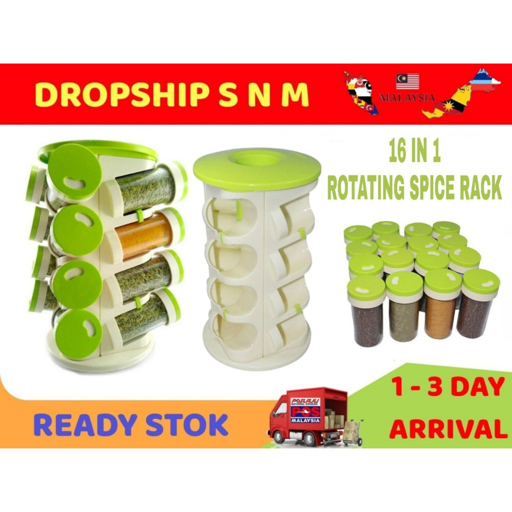 🔥HOT SALE FREE SHIP🔥SPICE RACK 16 IN 1🔥