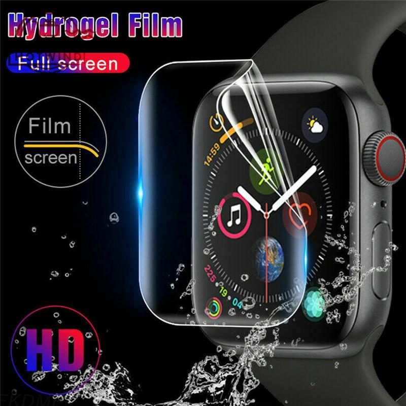Smart Watch Screen Protector Film Full Hydrogel Glass iWatch