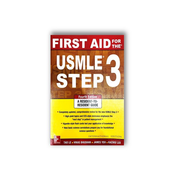 First Aid for the USMLE Step 3, Fourth Edition (First Aid USMLE)