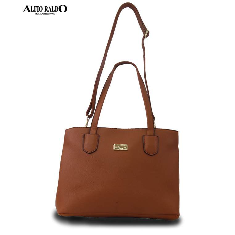 AR by Alfio Raldo Faux Leather Weekend Tote Bag