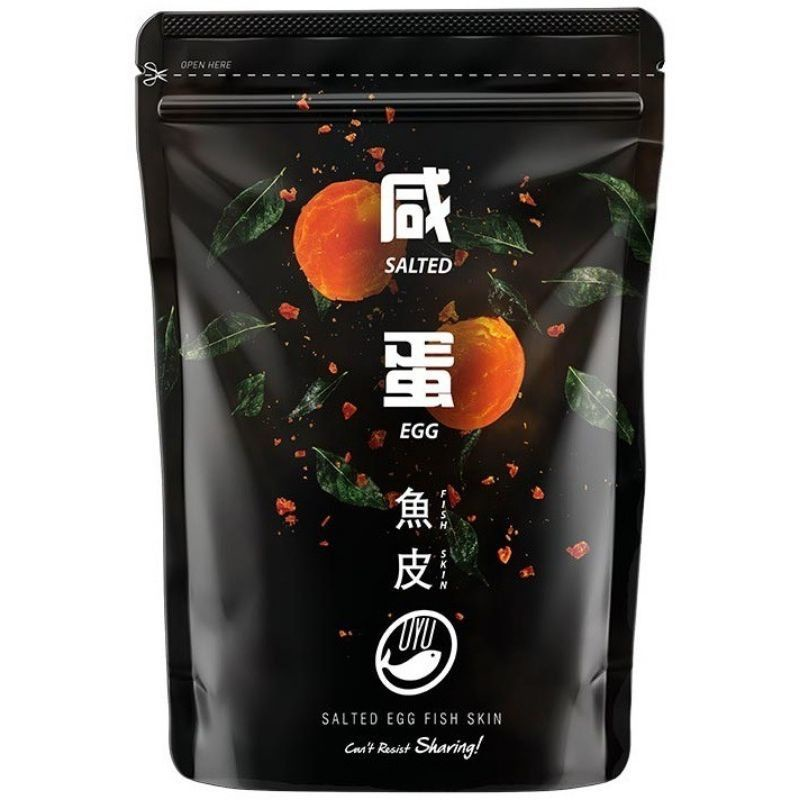 OYU Fish Skin Salted Egg Sichuan Hot & Spicy 咸蛋鱼皮 四川麻辣鱼皮
