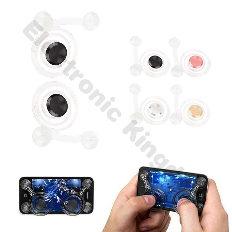 ✪Fast Shipping✪ 2Pcs Gaming Rocker Supplies Mini Mobile Phone Joystick
