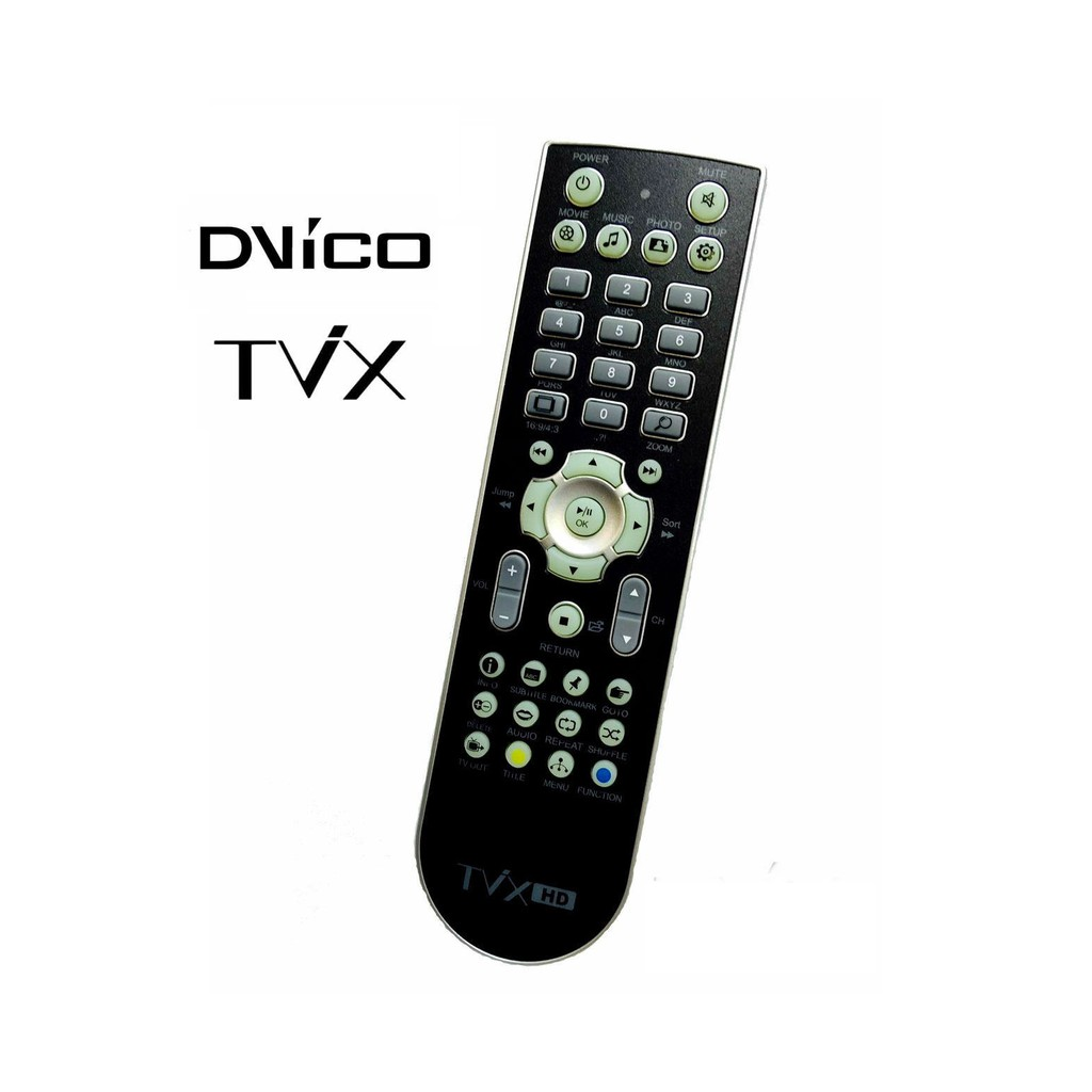 New DVICO TVIX HD Remote Control Controller for N1 Cafe /& Slim S1