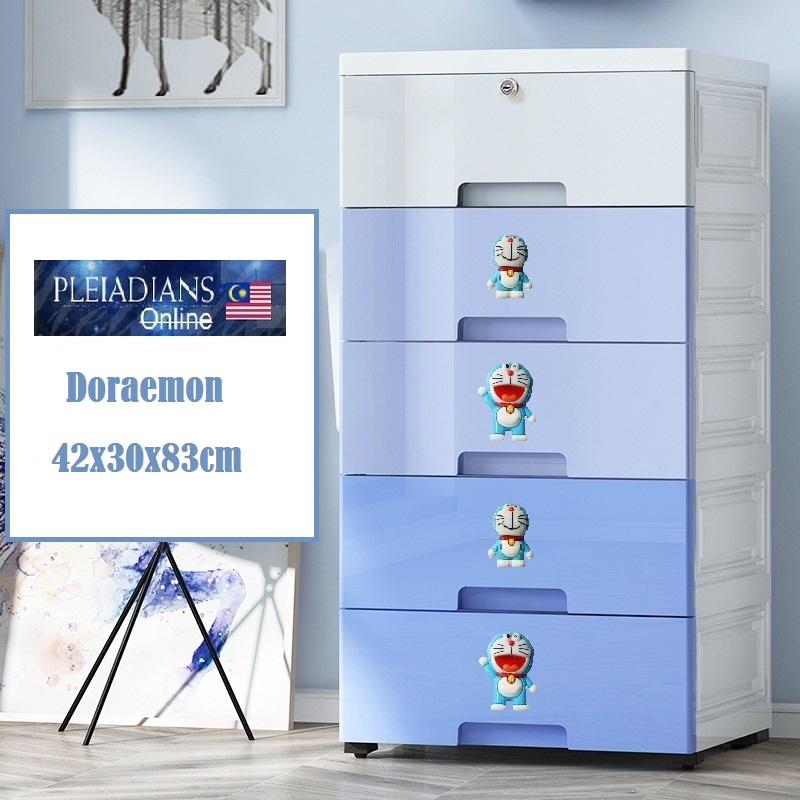 [ READY STOCK ]  Nordic Drawer Storage Cabinet Box Almari Perabut Furniture Jualan Murah Kid Kitchen Simpanan Baby Toy