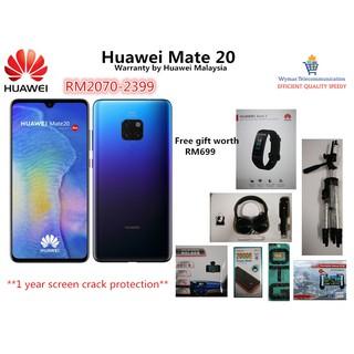 Huawei Mate 20 (6GB/128GB) + 6 Free Gift Worth RM599