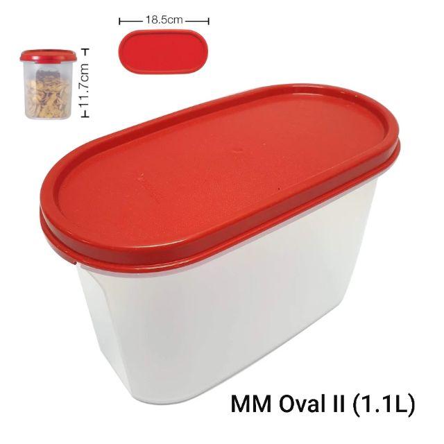 Tupperware MM Oval II (1) 1.1L