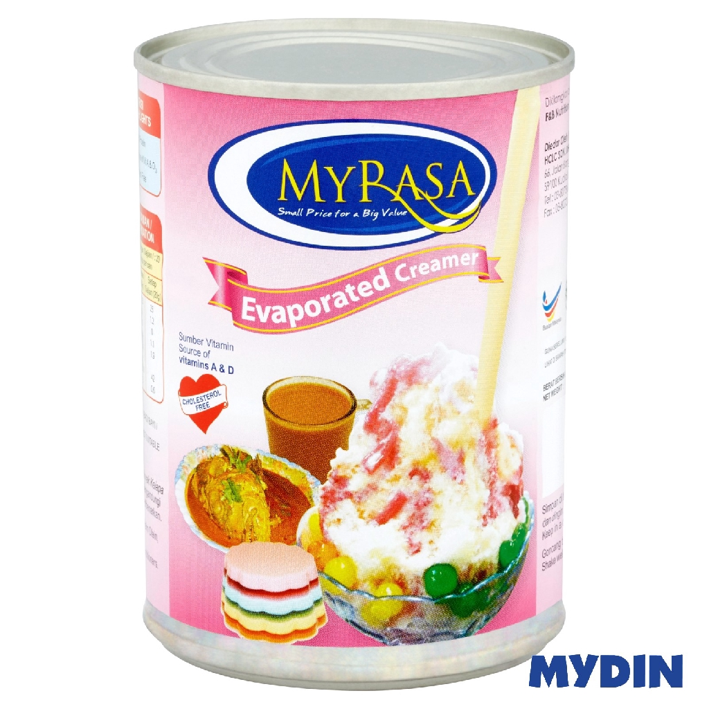 MyRasa Evaporated Creamer 400g