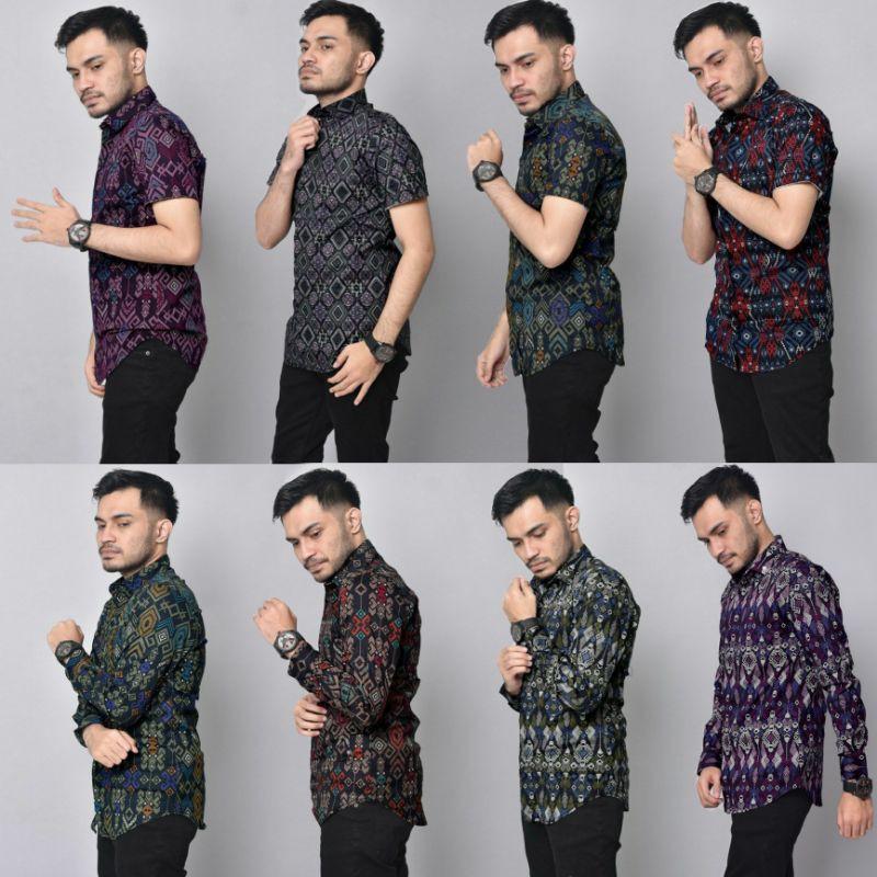 [PREMIUM] Kemeja Batik Songket Digital Slim Fit EXCLUSIVE