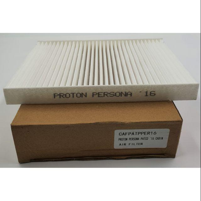 CAFPATPPER16 - PROTON PERSONA PATCO '16 CABIN AIR FILTER ( PC ) MA186-363436