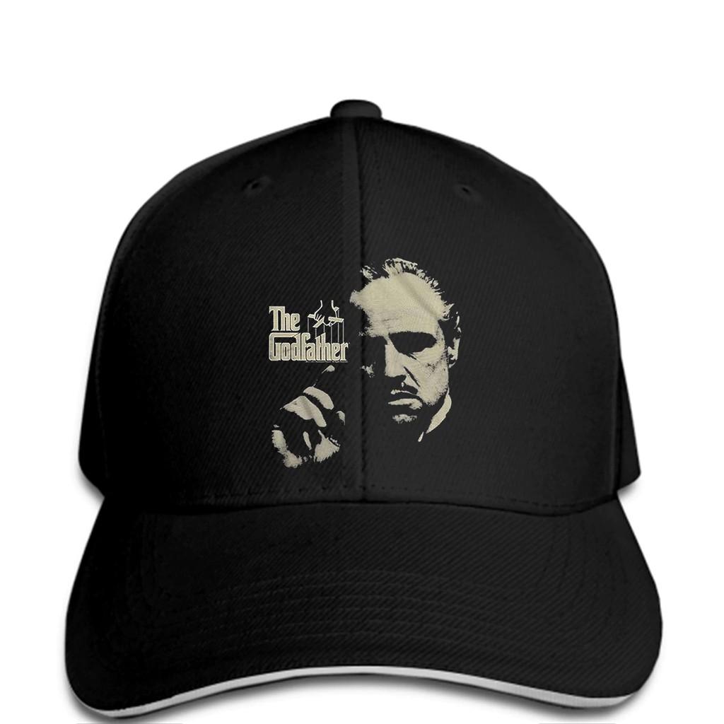 397abe2c7 Baseball cap Godfather 1972 Crime Movie Marlon Brando Corleone Logo Adult  funny Hat