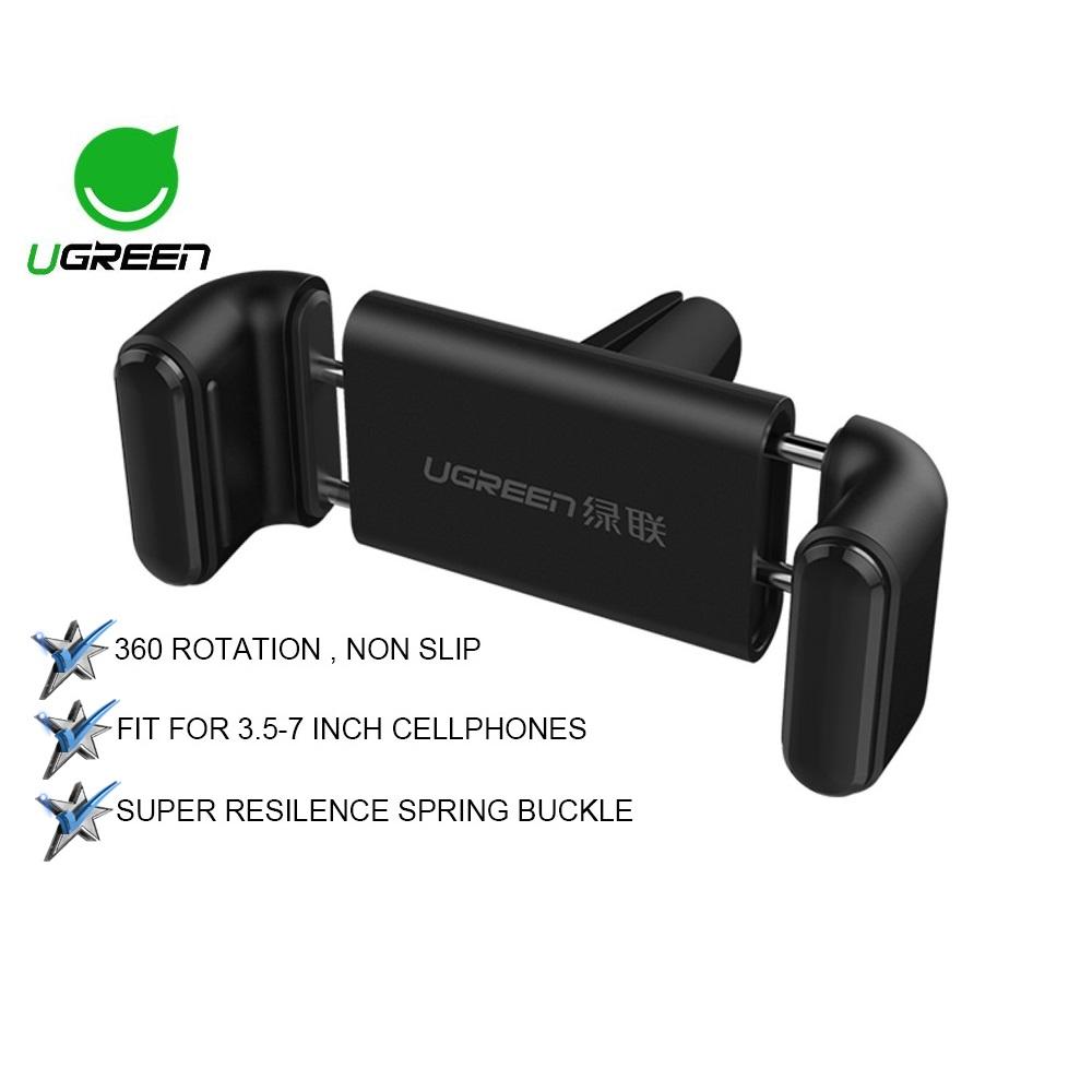 UGREEN Universal Mobile Phone Adjustable Car Air Vent Mount Holder Cradle Car Holder For Smartphone Mobile