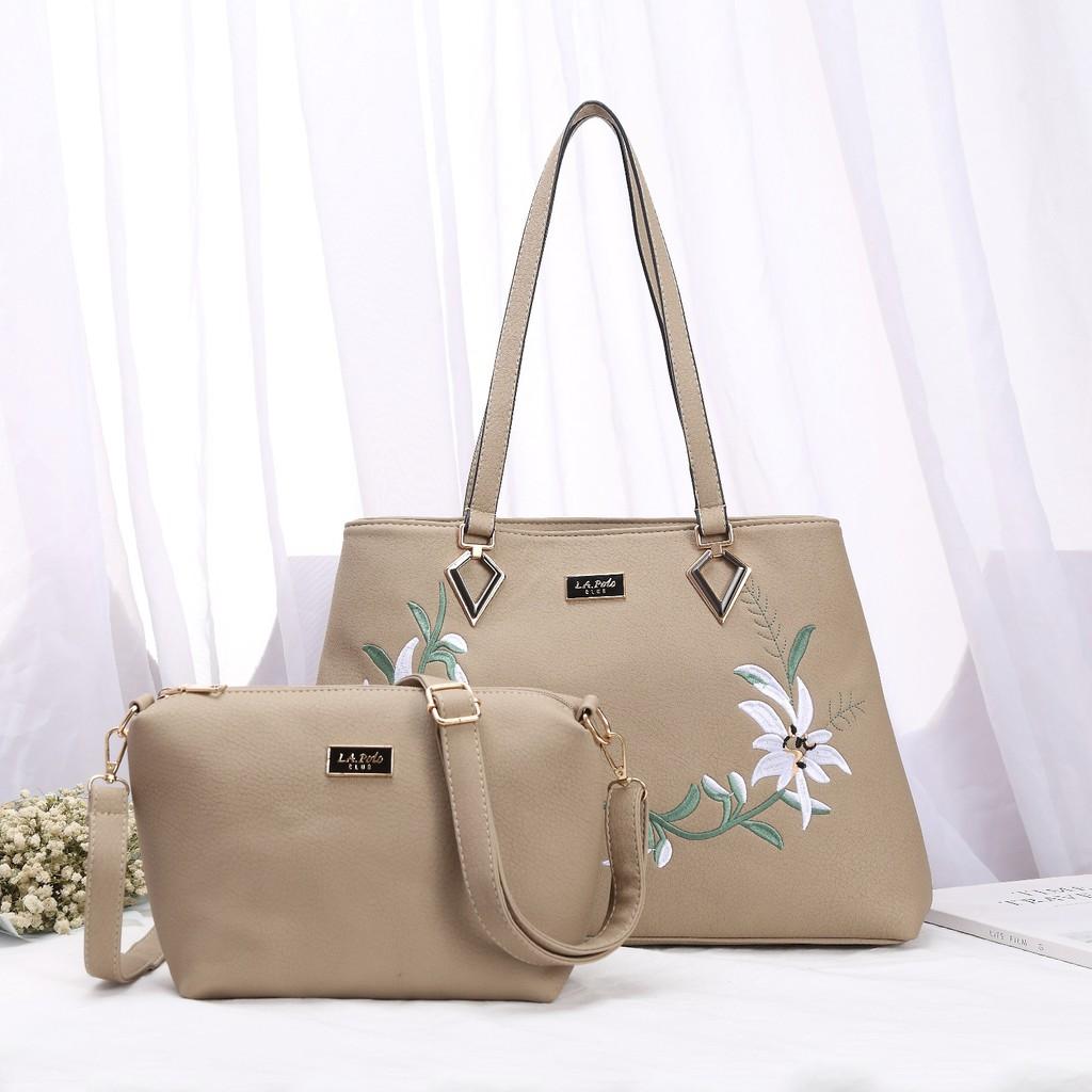 1980d5c4c33 LA POLO CLUB Top Handle   Cross Body Bag   Shopee Malaysia