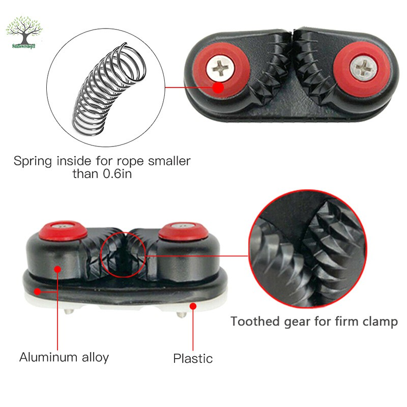 Kayak Cam Cleat Boat Rowing Fast Entry Cleats Sailing Accessories For Sports